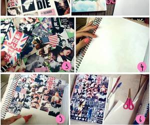 collages and notebook image