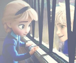 frozen, elsa, and jack image