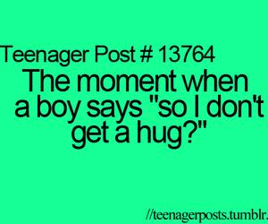 hug, boy, and teenager post image