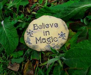 believe and magic image