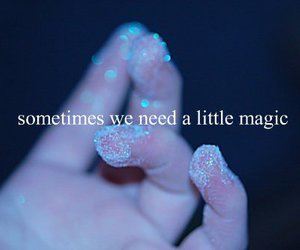 girl, magic, and little image