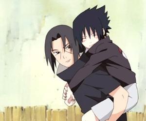 naruto, sasuke, and sasuke uchiha image