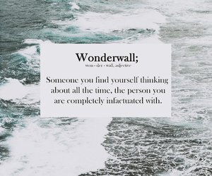 wonderwall, love, and quotes image