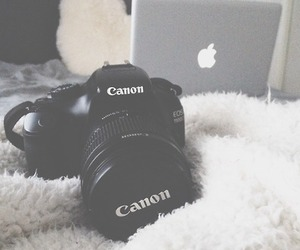 camera, love, and apple image