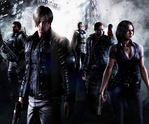 resident evil and re6 image