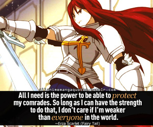 quote, anime, and fairy tail image