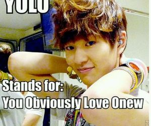Onew and SHINee image
