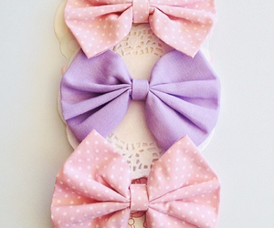 bow, cute, and girl image