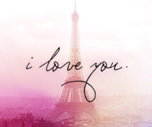 paris, love, and I Love You image