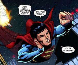 comic, superman, and smallville image