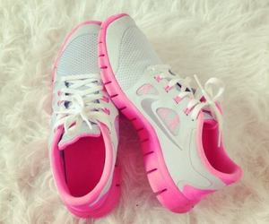 fitness, nike, and pink image