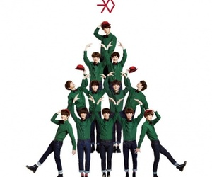 christmas, kpop, and exo k image