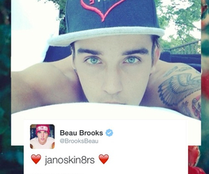background, red, and beau brooks image