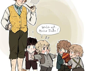 LOTR, frodo, and merry image