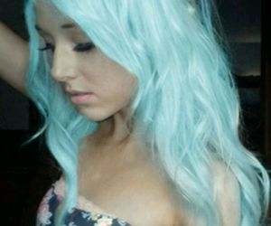 color, turquoise, and hair image