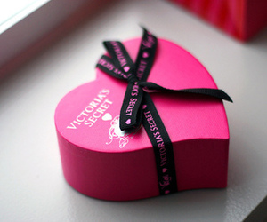 pink, Victoria's Secret, and heart image