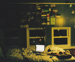hipster, room, and vintage image