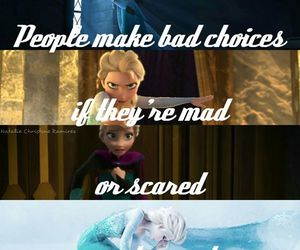 frozen, elsa, and mad image