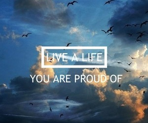 life, live, and proud image