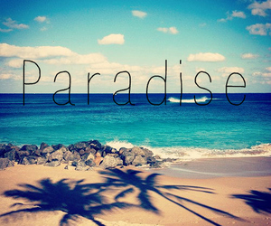 free, paradise, and sea image