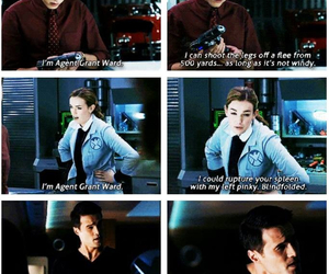 funny, agents of shield, and grant ward image