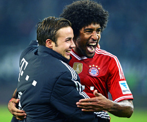 bayern munich and mario gotze image