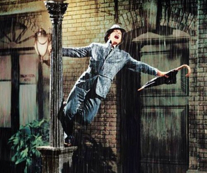 rain, Singing In The Rain, and Gene Kelly image
