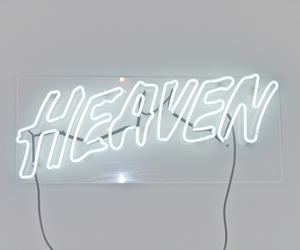 heaven, light, and neon image