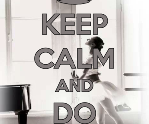 and, calm, and ballerina image
