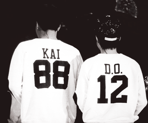 kai, exo, and kaisoo image