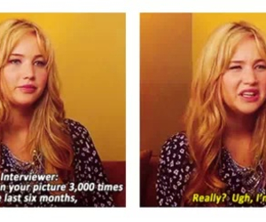 Jennifer Lawrence and interview image
