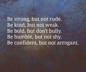 quote, strong, and confident image