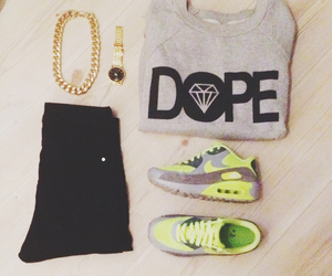 outfit, dope, and fashion image