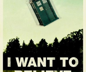 tardis, doctor who, and believe image