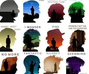 doctor who, Geronimo, and allons-y image