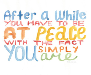 life, living, and peace image
