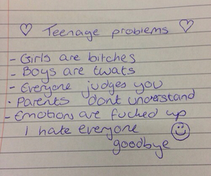 problem, teenager, and boy image