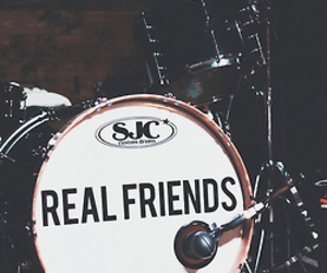 drums, real friends, and band image