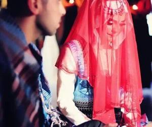 hijab, wedding, and hijabi image