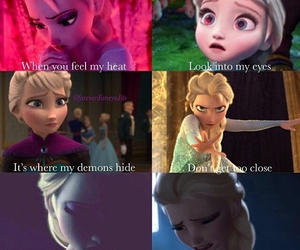 anna, imagine dragons, and disney frozen image
