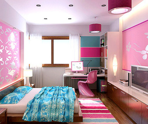 beautiful, bedroom, and bed image