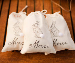 bags, bunny, and french image