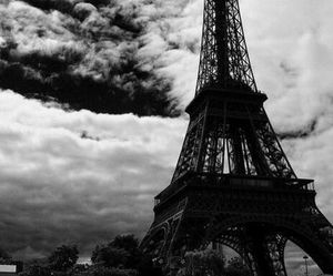 paris, photography, and black and white image