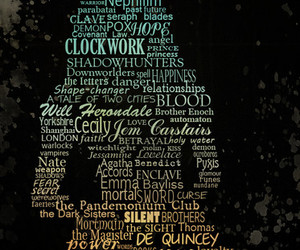the infernal devices, tessa gray, and cassandra clare image