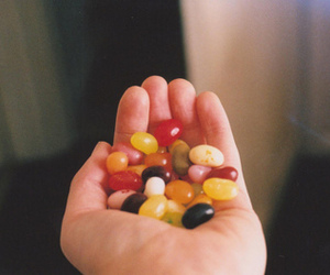candy, hand, and vintage image