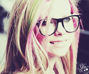 Avril Lavigne, Avril, and pink image