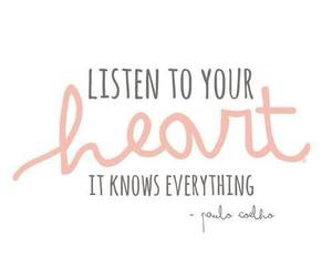coelho, paulo, and listen to your heart image