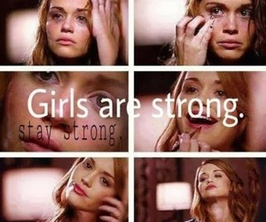 strong, teen wolf, and lydia martin image