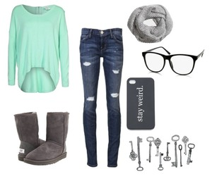 comfy, glasses, and jeans image