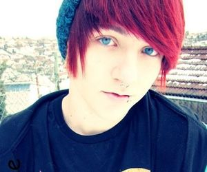 blue eyes, boy, and red hair image